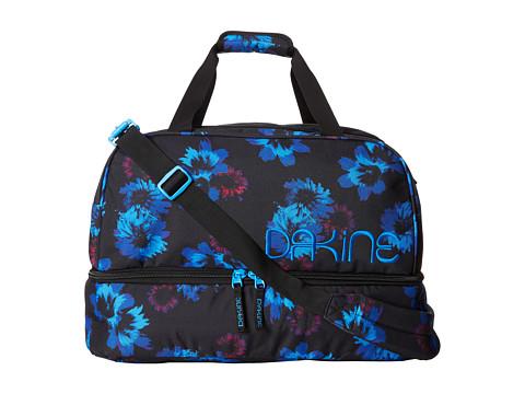 Dakine - Womens Boot Locker (Blue Flowers) Day Pack Bags