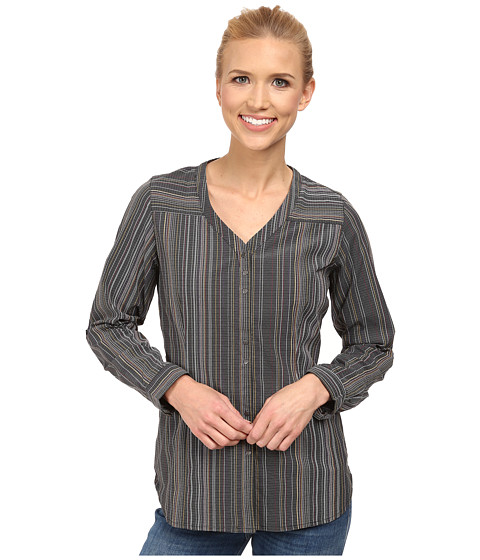 Royal Robbins - Venture Stretch Long Sleeve (Jet Black) Women's Long Sleeve Button Up