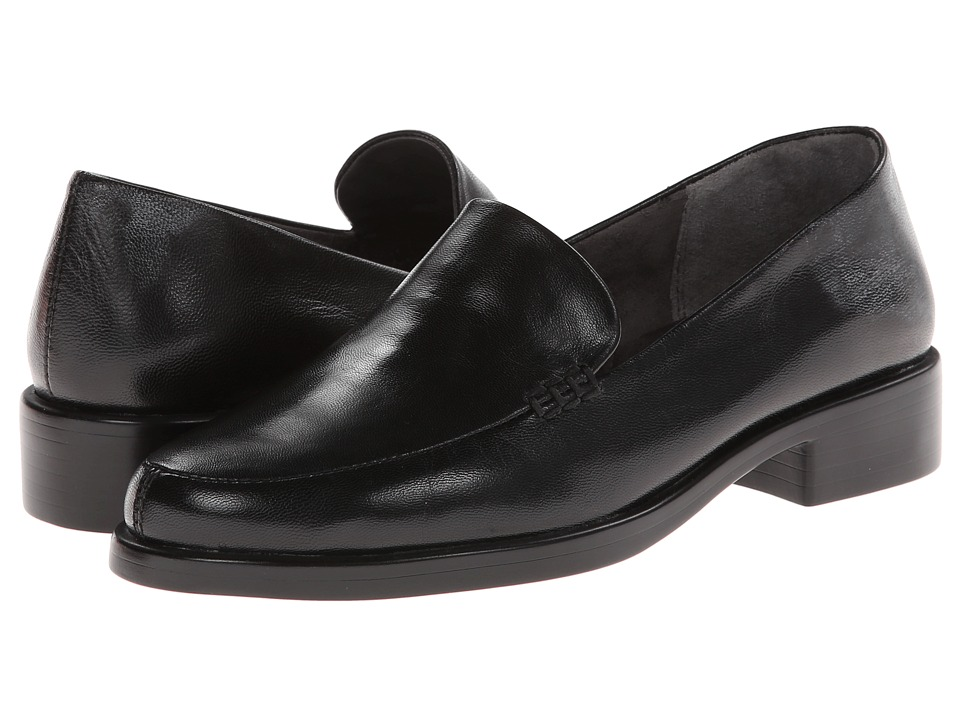 Aerosoles - Wish List (Black Leather) Women's Slip on Shoes