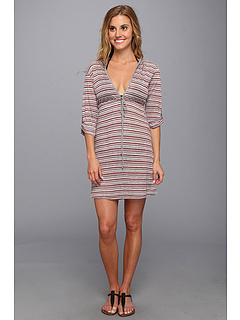 SALE! $24.99 - Save $19 on Lucy Love Hooded Resort Dress (Sangria) Apparel - 43.20% OFF $44.00