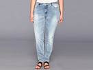 DKNY Jeans Plus Size Mercer Skinny (Icy Brook Wash)
