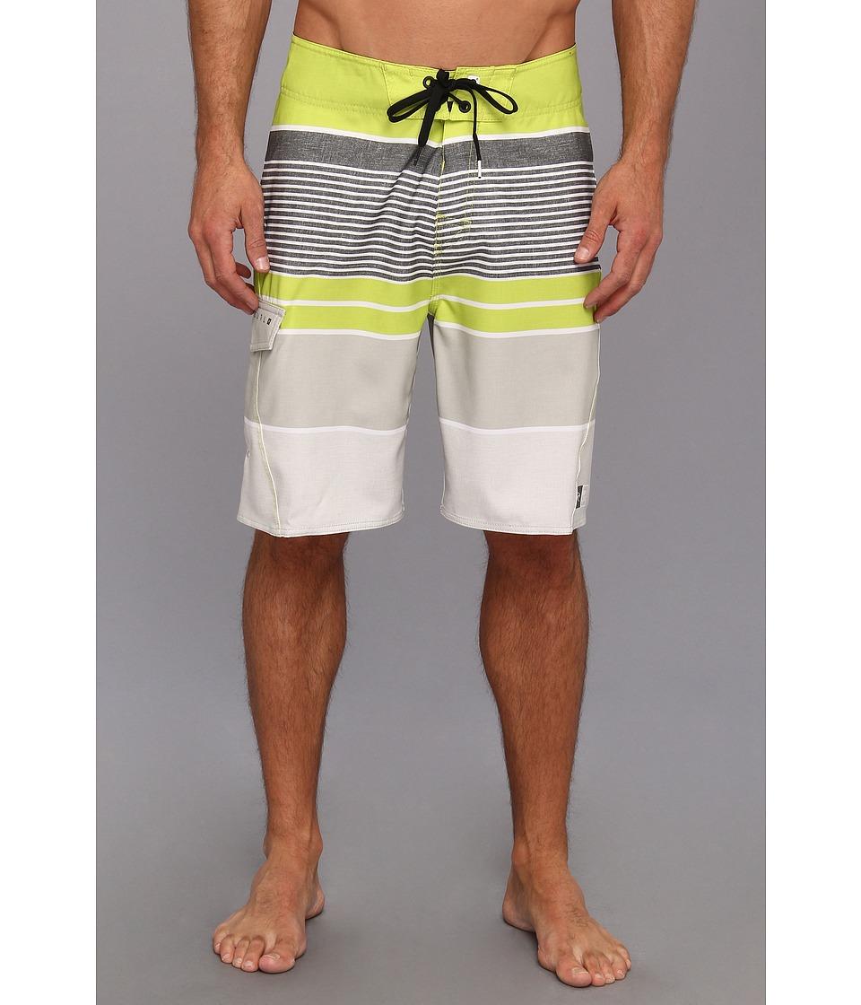 Rip Curl Livin Stripe Boardshort Mens Swimwear (Green)