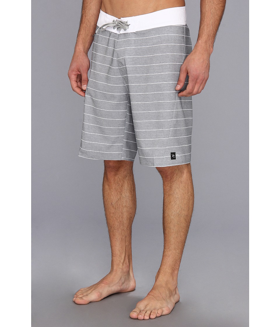 Rip Curl Lined Up Boardshort Mens Swimwear (Gray)
