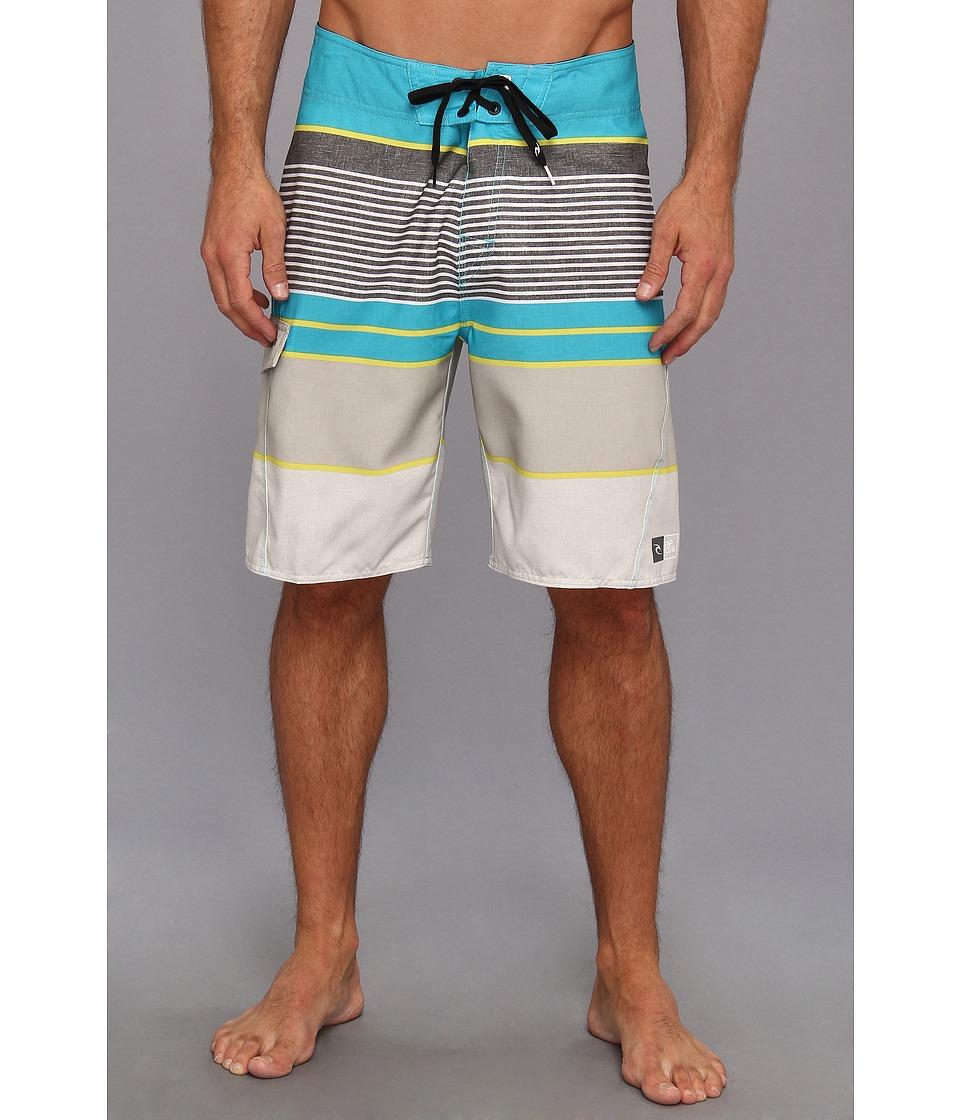 Rip Curl Livin Stripe Boardshort Mens Swimwear (Blue)