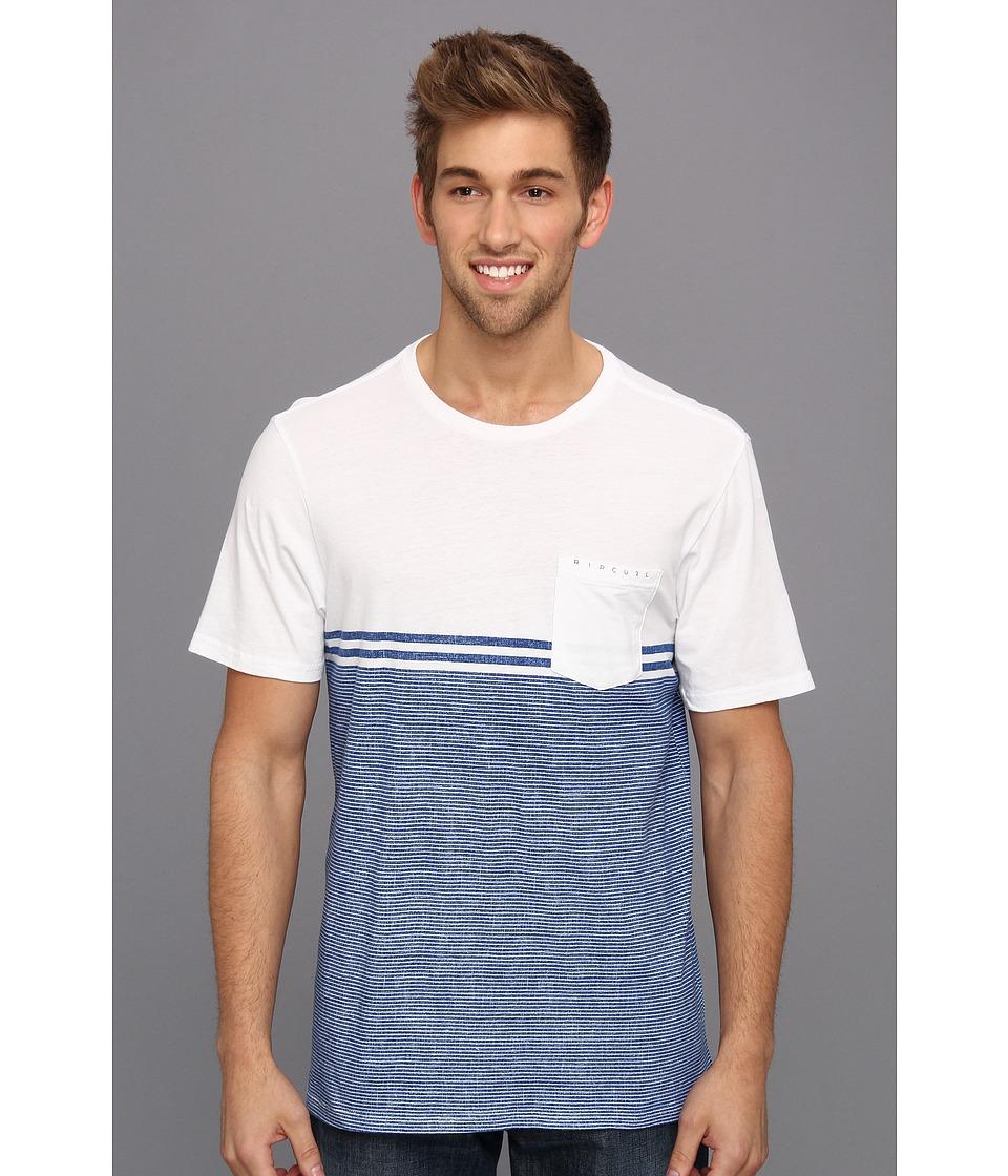 Rip Curl MF Vision Crew Mens T Shirt (White)