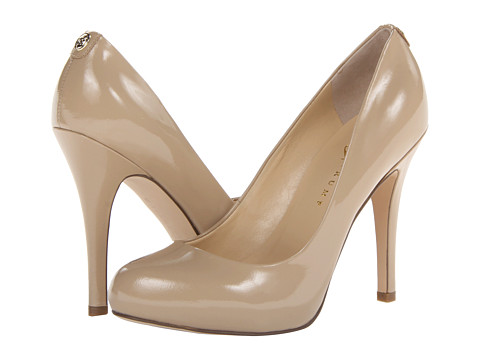 Ivanka Trump - Pinkish 4 (Light Natural Patent) High Heels