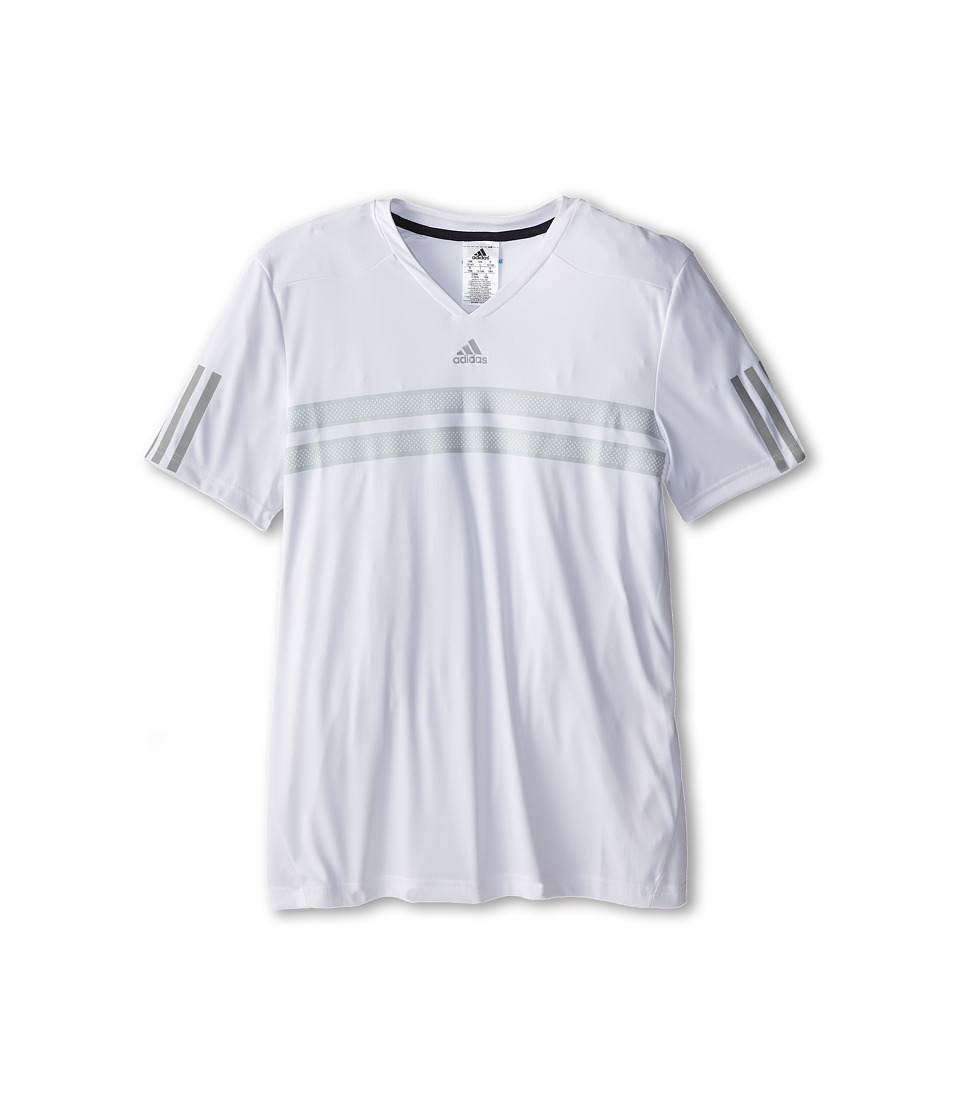 adidas Kids - Boys' Andy Murray Barricade Tee (Little Kid/Big Kid) (White/Night Grey) Girl's T Shirt