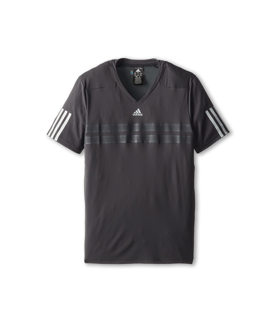adidas Kids - Boys' Andy Murray Barricade Tee (Little Kid/Big Kid) (Dark Grey/Night Grey) Girl's T Shirt