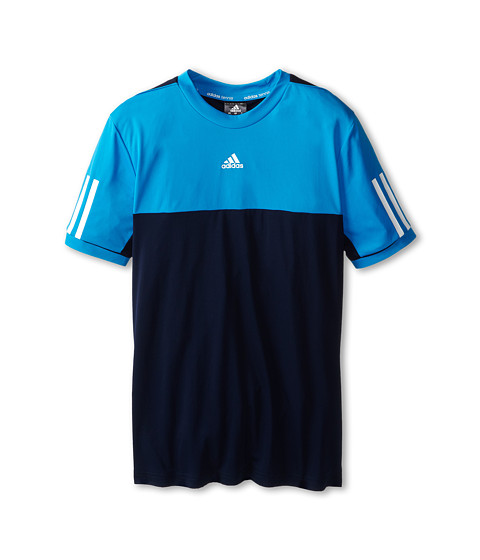 adidas Kids - Boys' Response Tee (Little Kid/Big Kid) (Collegiate Navy/Collegiate Gold) Boy's T Shirt
