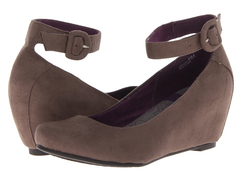 CL By Laundry - Late Night (Steel/Stealth Gray/Stealth Gray) Women's Wedge Shoes