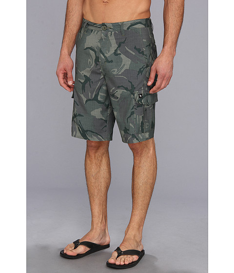 Rip Curl - Mirage Cargo 3 Boardwalk (Green) Men's Shorts