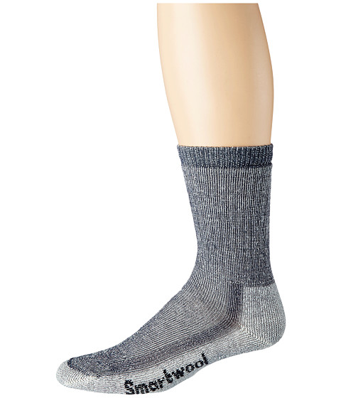 Smartwool - Hike Medium Crew (Navy) Crew Cut Socks Shoes