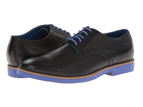 BUKS by Walk-Over - Declan (Black f/g (Blue Bottom)) Men
