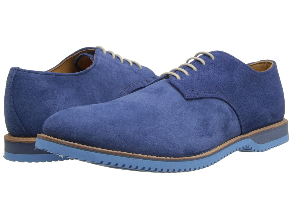 Walk-Over - Chase (Cobalt Blue Suede) Men