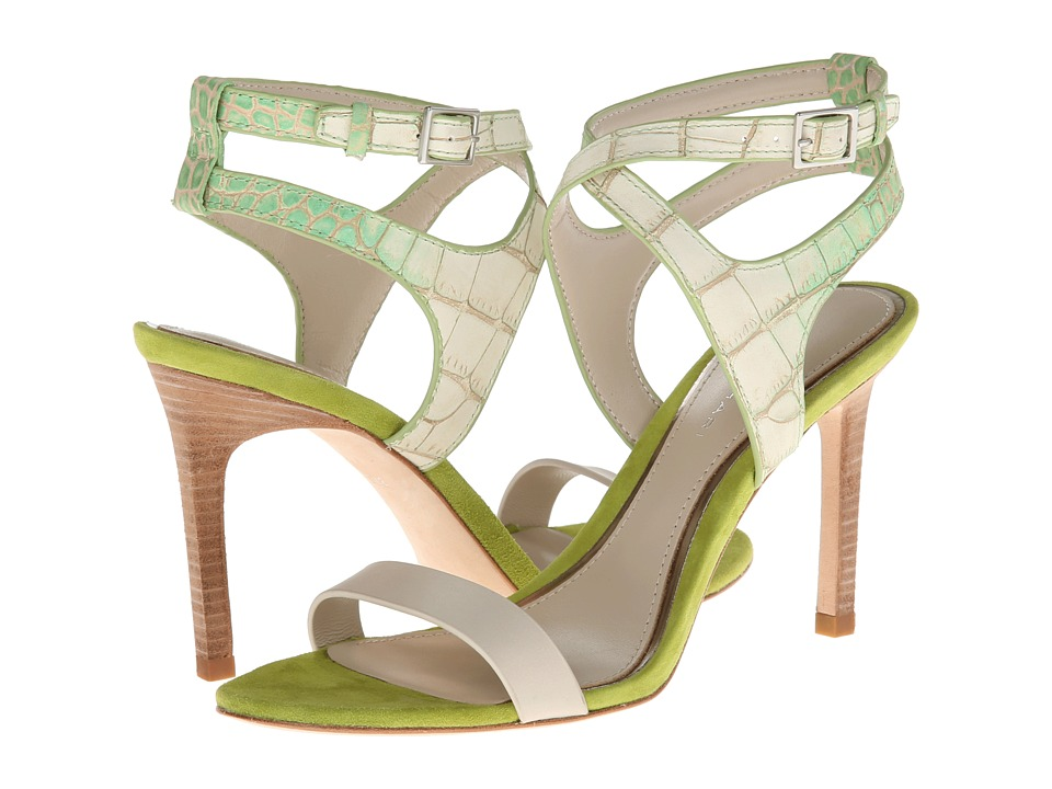 Elie Tahari - Bentley (Bone/Kiwi) High Heels