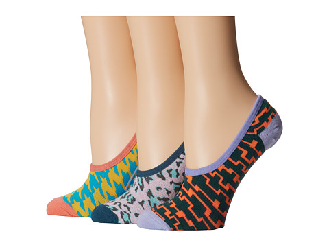 Vans - Retro Canoodle (3-Pair Pack) (Retro) Women's No Show Socks Shoes