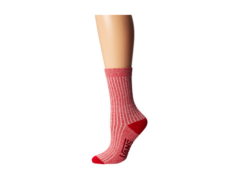 Vans - Sloucher Slouchy Sock (Mars Red) Women