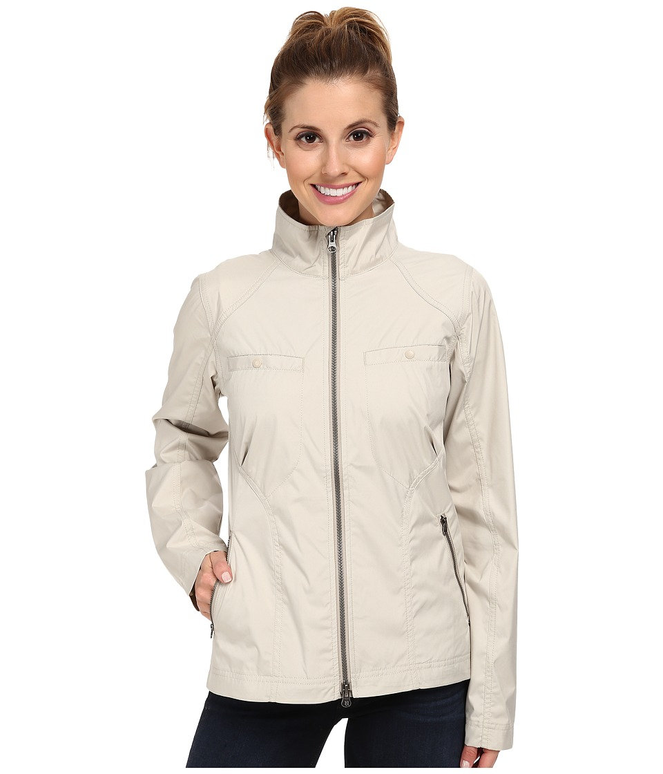 Royal Robbins - Pack N' Go Jacket (Light Khaki) Women's Coat
