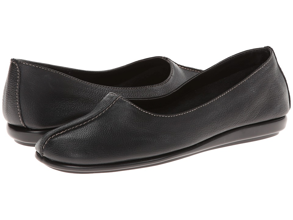 Aerosoles - Sol Music (Black Leather) Women's Shoes