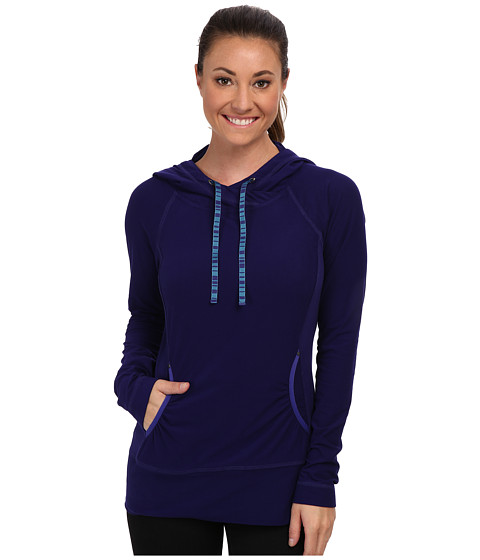 Royal Robbins - Alpine Velvet Hoodie (Royal Purple) Women's Sweatshirt