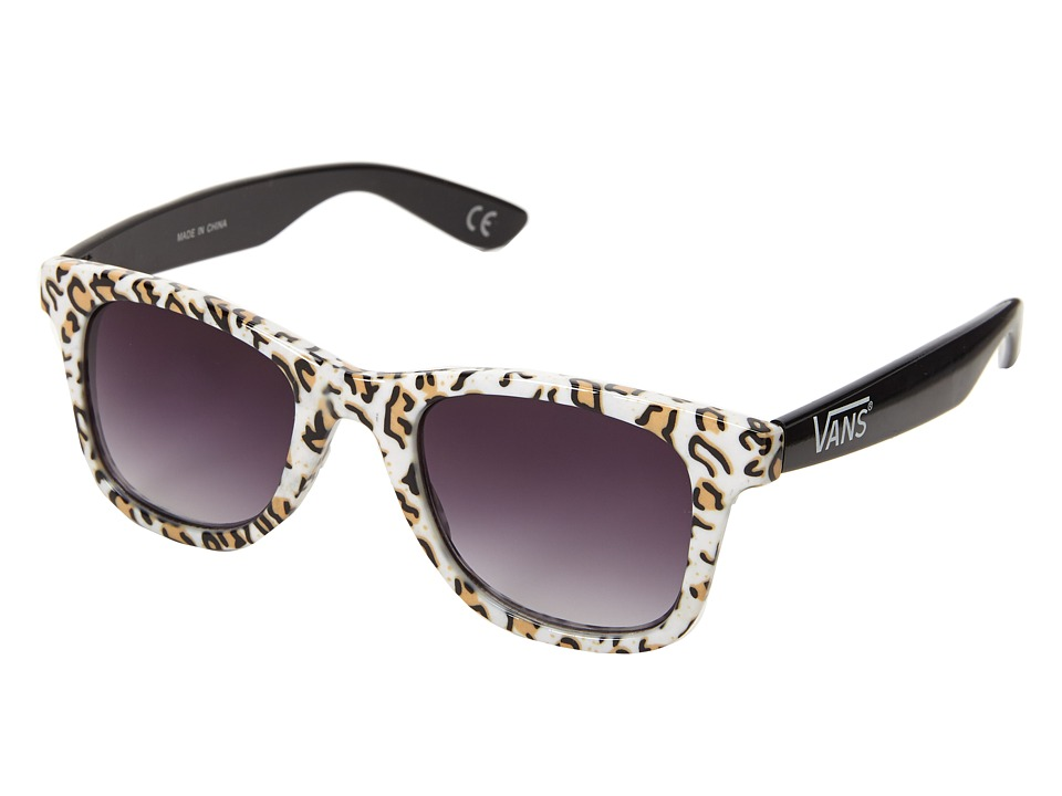 Vans - Janelle Hipster Sunglasses (White) Sport Sunglasses