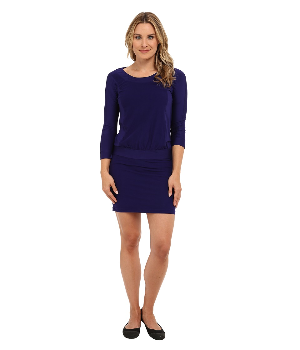 Royal Robbins - Alpine Velvet Dress (Royal Purple) Women