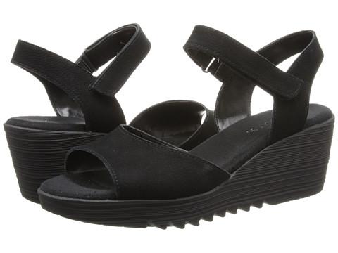Aerosoles - Bogaboo (Black Nubuck) Women's Wedge Shoes