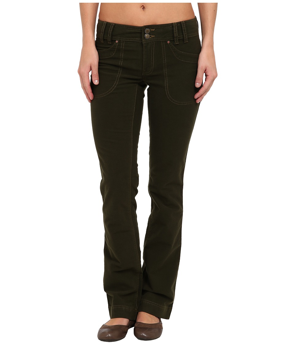 Royal Robbins - Moleskin Pant (Dark Galaxy Green) Women's Casual Pants