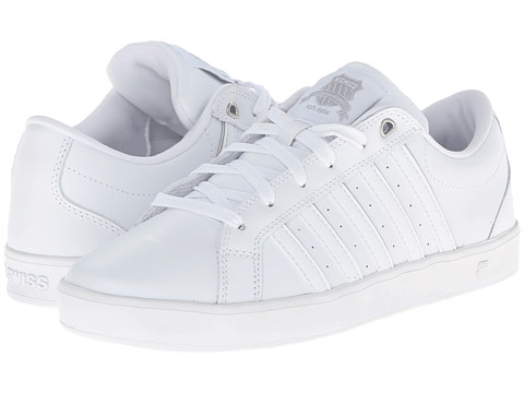 K-Swiss - Gallen III (White/White/Silver) Men's Shoes