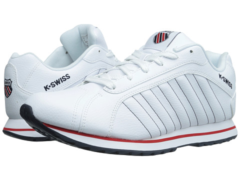 K-Swiss - Verstad III S (White/Navy/Red) Men