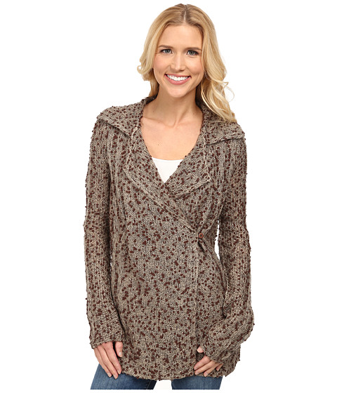 Royal Robbins - Poppy Cardigan (Khaki) Women's Sweater