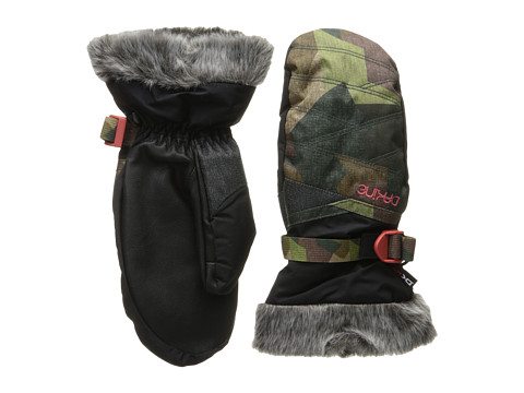 Dakine - Alero Mitt (Patchwork Camo) Extreme Cold Weather Gloves