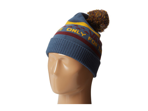 Vans - Elite Beanie (Burgundy/Ensign Blue) Beanies