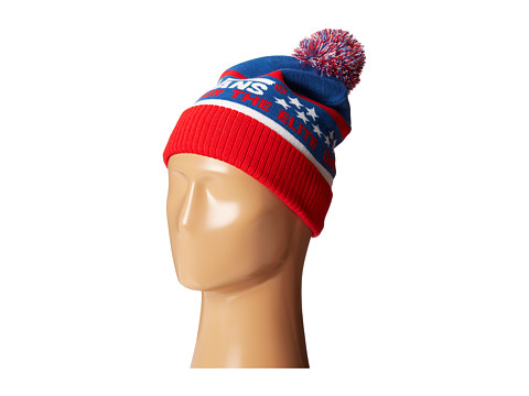 1fb826ccc94 ... Off The Wall Snowboard Ski Pom Pom Beanie Hat UPC 888366275955 product  image for Vans Elite Beanie (Red White Blue) Beanies ...
