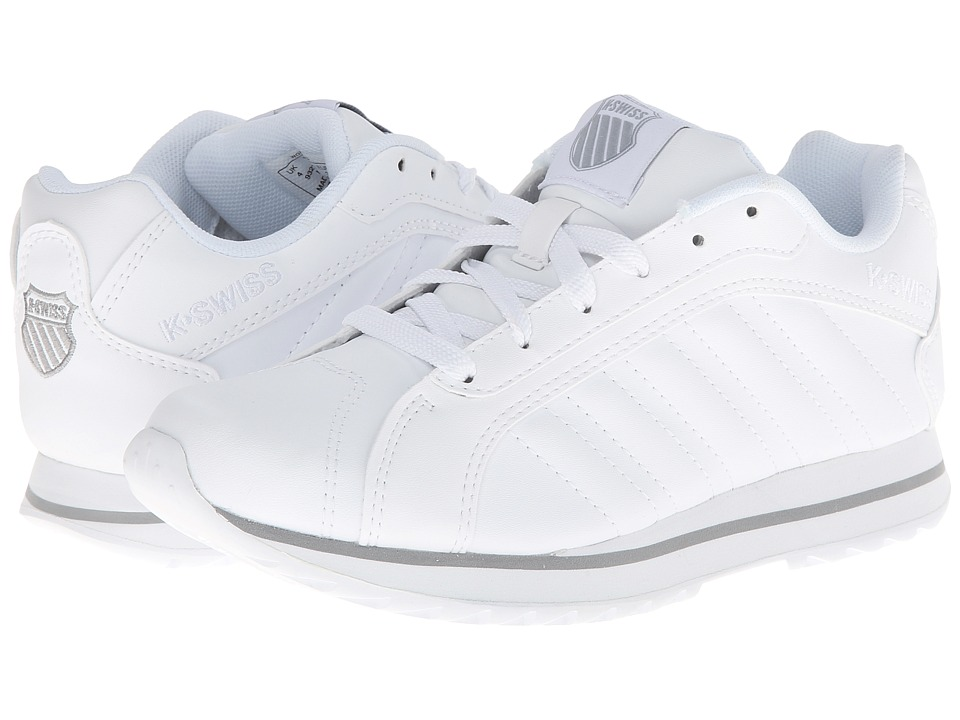 K-Swiss - Verstad III S (White/Storm) Women's Shoes