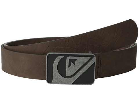 Quiksilver - Defrills Belt (Chocolate) Men's Belts
