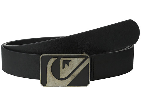 Quiksilver - Defrills Belt (Black) Men's Belts