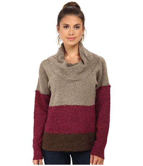 Royal Robbins - Napa Boucl Pullover (Dark Cranberry) Women's Sweater