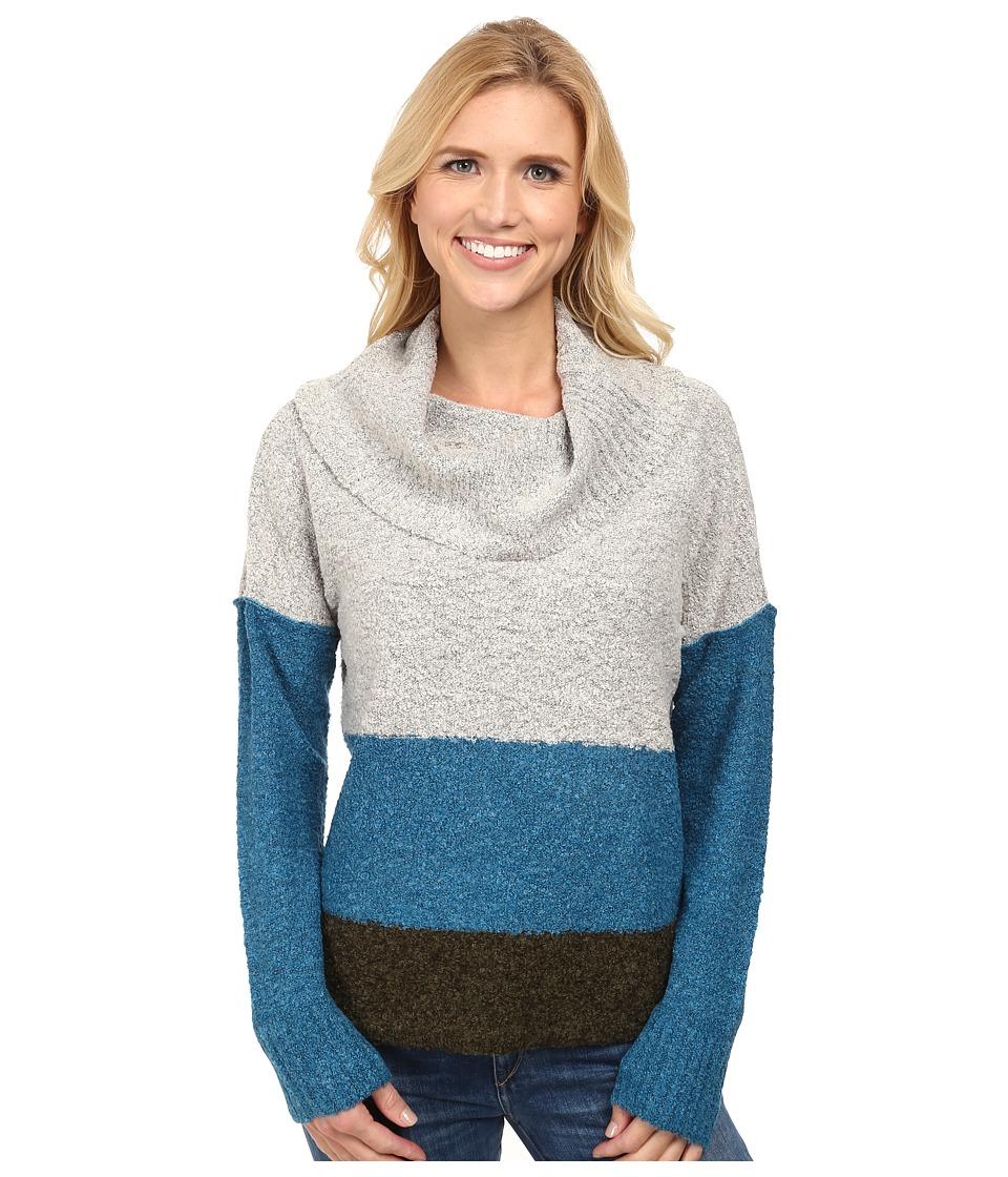 Royal Robbins - Napa Boucl Pullover (Light Glacier Blue) Women's Sweater