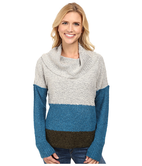 Royal Robbins - Napa Boucl Pullover (Light Glacier Blue) Women's Sweater