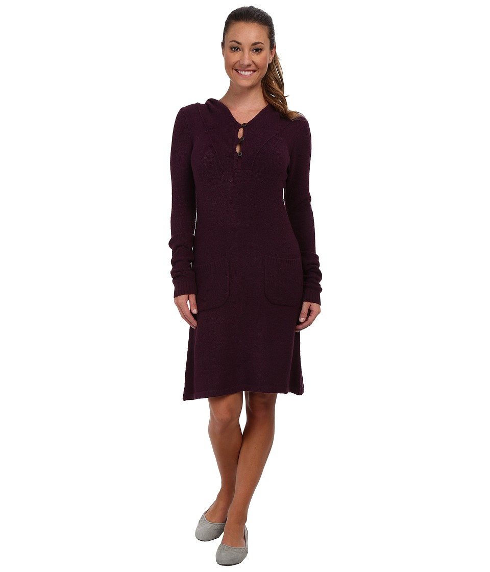 Royal Robbins - Voyager Hooded Dress (Blackberry) Women's Dress