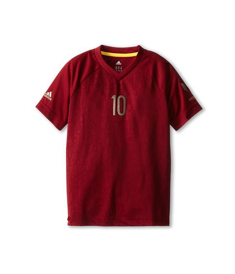 adidas Kids - Youth Messi Tee (Little Kid/Big Kid) (Cardinal) Boy