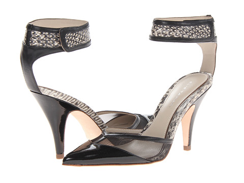 Elie Tahari - Treasure (Nero/Black/Black/White) High Heels