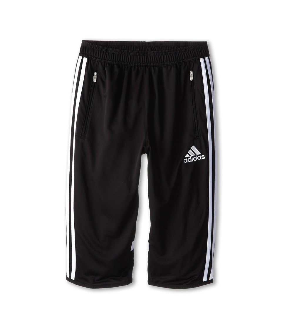 adidas Kids - Youth Condivo 14 Three-Quarter Pant (Big Kid) (Black/White) Boy's Workout