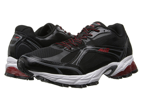 Avia - Avi-Pulse A5636M (Steel Grey/Formula One Red) Men's Shoes