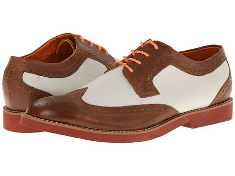 BUKS by Walk-Over - Durney (Tan/White f/g Brick) Men
