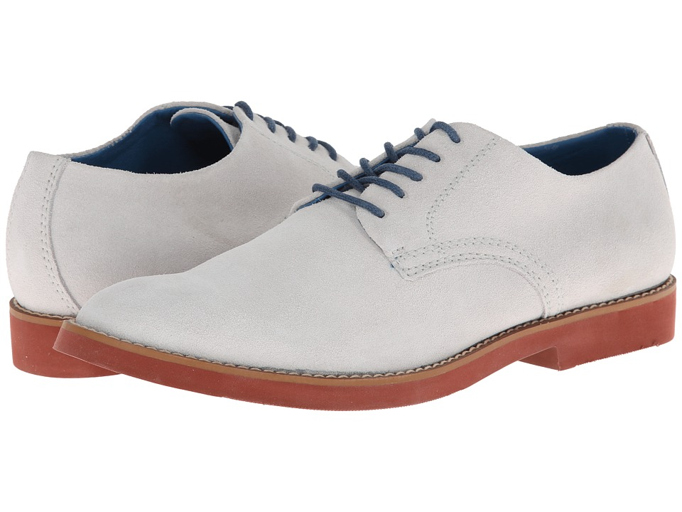 BUKS by Walk-Over - Declan (White Suede) Men