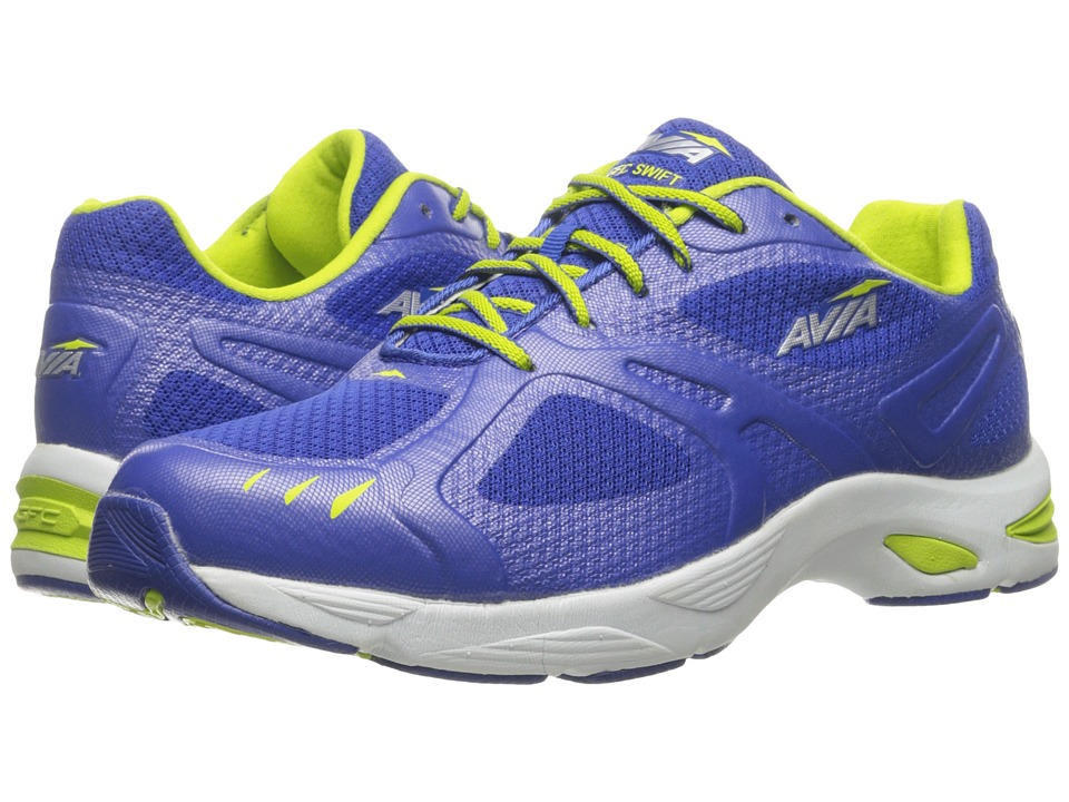 Avia GFC Swift (Blue Ribbon/Lime Shock/Chrome Silver) Women