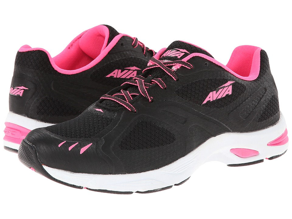 Avia - GFC Swift (Black/Atomic Pink/White) Women's Shoes