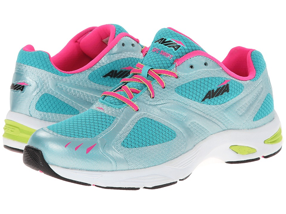 Avia GFC Swift (Teal Blast/Athena Pink/Chrome Silver/Black) Women